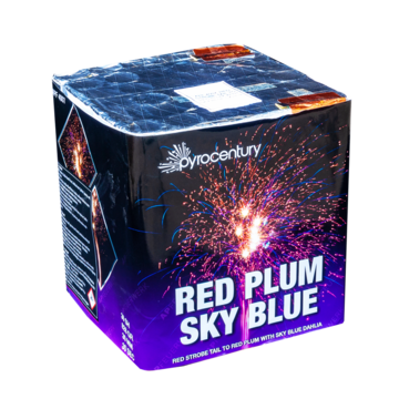 Red Plum Sky Blue